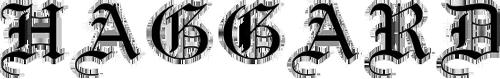 Haggard Logo